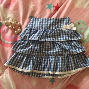 Children's Place Bottoms - Cute girls ruffled skirt 4t but fits small like 3t